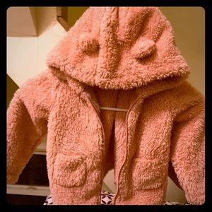 Infant faux fat jacket